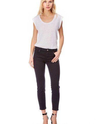 Jeans elásticos Tobilleros Azul Marino