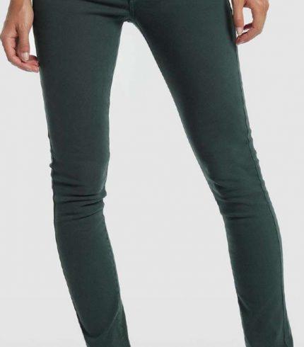 Jeans Elásticos Coty Tena Verdes de Lois