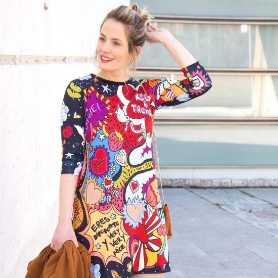 Vestido Estampado de Keep and Trendy