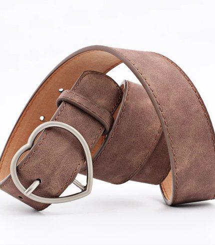 Cinturón Hebilla Corazón