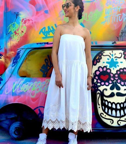 Vestido Blanco Parma