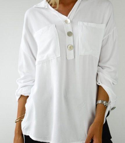 Camisa Blanca Botones