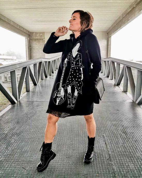 Vestido Corto Vive con Música de Keep and Trendy