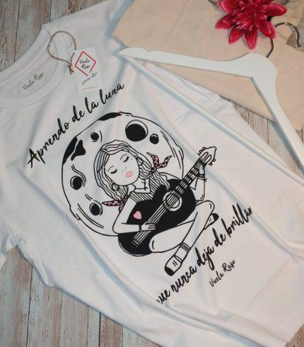 Camiseta Aprendo de la Luna
