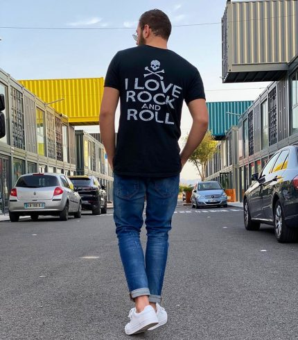 Camiseta Love Rock and Love
